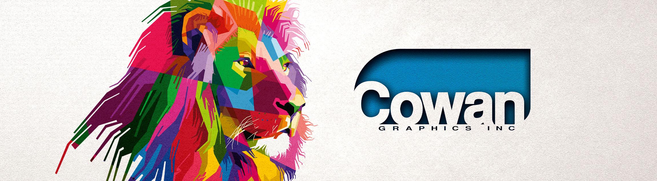 Cowan Graphics - Lion Banner